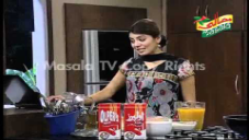 Crispy Chicken Burger, Aatay Kay Ladoo, Fruit Mocktail by Zubaida Tariq