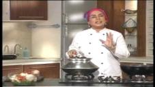 Sabzi Badami Qorma, Naan Tukre by Chef Rahat