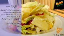 Vegetable Cream Salad By Rida Aftab