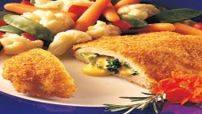 cheese filled crispy chicken