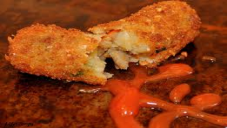 CHEESE AND VEGETABLE CROQUETTES