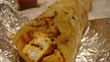 Chicken Paratha Roll