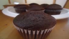 One Bowl Chocolate Cupcake